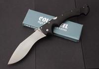 Toptan SOĞUK ÇELIK 62 KG RAJAH II Büyük Taktik Katlanır Bıçak D2 Blade G10 Kolu Avcılık Survival Askeri Programı Cep Xmas Koleksiyonu
