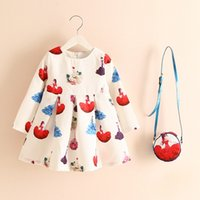 Matching Printing Dresses and Purses Set Boutique Children c...