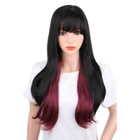 I' s a wig Synthetic Wigs for Black Women Long Straight ...