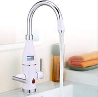 Aquecedor de água elétrico rápido, 3 segundos de velocidade de lavar louça quente, banho conveniente e rápido torneira aquecedor de água