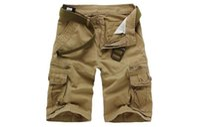 Short de Coton GRATUIT Coton Men's Shorts de grande taille Pantalons à la mode Five Cotons MS031 Mens