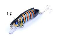Venta al por mayor Minnow Fishing Fishing Lure Artificial Bait Wobbler Big Game Fake Lures Pesca Pesca Switebait Tackle Pesca Hooks Leurre Peche