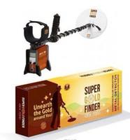 Dos años de garantía Professinal GFX-7000 Detector de metales subterráneo Gold Digger Treasure Hunter gfx7000 Equipo de detección profesional