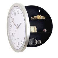 Wholesale- Modernes Design Mechanische Uhr Safe Storage Box Clock Plastikschmucksachen Geld versteckte geheime Stash-Safe-Wand-Schreibtisch-Taktgeber