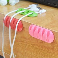2017 Multipurpose Wire Cord Cable Tidy Holder Drop Clips Org...