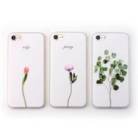 Luxury 3D Relief Leaf Cartoon Case For iphone 7 Case Cute Pl...