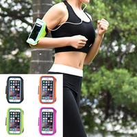 5.5 polegada Universal Telefone Ultra Fino Esporte Ao Ar Livre Caminhadas Corredor Armband Bag Case Capa para iphone 6/6 s plus 7 além de