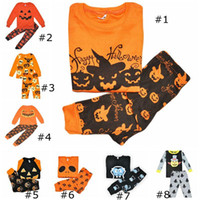 XMSA Toddler Pyjamas cosplay costume citrouille Halloween costume Enfants vêtements de nuit Sets de vêtements de vêtements Ensembles de vêtements pour bébés garçons vêtements de vêtements