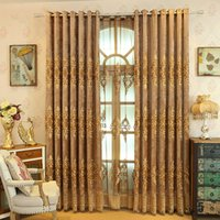 Western Simplicity Style Chenille Curtain E..