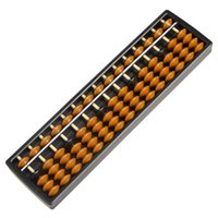 New Plastic Abacus 15 Digits Arithmetic Tool Kid' s Math...