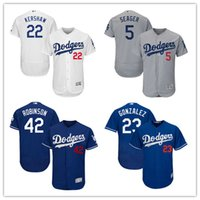 2017 Los Angeles Dodgers jersey Clayton Kers Jackie Robinson...