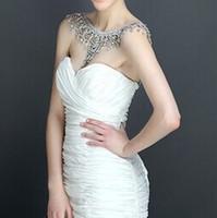 2017 Hit meistverkauften Luxus Braut Schulter Kette Halskette Kristall Schulter Kette Japan und Südkorea