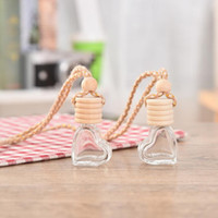 Steam car ornaments hanging car perfume bottles , empty bott...