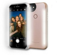아이폰 6 7 플러스 발광 3 세대 휴대 전화 케이스 사진 LED 채우기 빛 Selfile 휴대 전화 쉘 커버