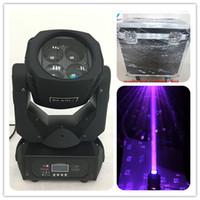 Flight Case 4 * 25W LED Mini Mini Mover Head Wash Lave Super Beam Cabeza móvil 25W LED Luz Etapa