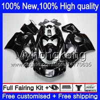 8GIFT 23 COLORES Bodywork para Suzuki GSXR600 1996 1997 1998 1999 2000 GSX R600 5LQ38 GSXR750 SRAD GSXR 750 600 96 97 98 99 00 Kit de carenado BLAC