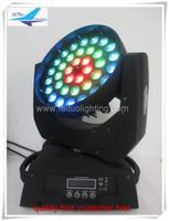 4 ışık + 2 sinek durumda Sıcak satmak lir led 36x10 w rgbw quad 4in1 led zoom hareketli kafa yıkama sahne ışık için disko dj parti sahne