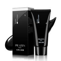 12PCS Pilaten Masque Visage profond Soins de nettoyage de la peau purifiant Peel traitement de l'acné comédons crème visage blanchissant boue 60g DHL