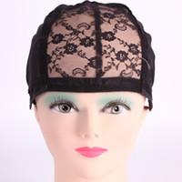 Juive perruque Glueless Caps pour la fabrication de perruques Taille moyenne avec sangle réglable Remboursé Haute Qualité cheveux Net Livraison gratuite