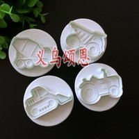 4PCS LOT Missile vehicle, Tank, Armored car Sample Plastic Co...