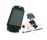 لسوني PSP2000 PSP 2000 متعدد الألوان حالة الإسكان الكامل استبدال شل القضية مع مجموعة أزرار