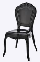 로얄 의자 / 공주 의자 / VIP 의자 / 아크릴 식당 의자