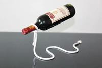 Rack de vinho Titular Garrafa de Vinho Tinto Criativo Corda de Suspensão Cadeia Suporte Quadro Para Garrafa de Vinho Tinto 3 cm enfeites de Decoração Para Casa Livre DHL