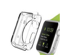 Часы TPU для Apple Watch Iwatch 6 SE 5 1 2 3 4 Crystal Clean Clear Crystal TPU Soft Cover 38 мм 42 мм 40 мм 44 мм 300 шт. / Лот