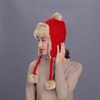 Joymay новая зимняя шапка для мужчин женщин бомбардировщик шляпы сгущаться Балаклава хлопок мех зима наушник согреться шапки русский череп Маска W232