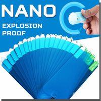 Nano Protecteur d'écran souple Antidéflagrant de protection Film transparent Garde pour iPhone 12 Pro Max 11 XS XR X 8 7 6 6S Plus SE 2020