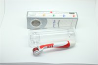 Светодиод 540 Титановые иглы Derma ролик Микроиглы для точечной косметологии 4 цвет красный синий зеленый желтый свет DR002