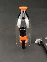 Американский цвет стеклянная бутылка Бонг большой стакан пьянящий воды рециркулятора стекла Бонг 14.4 мм стеклянная чаша