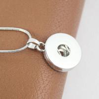 새로운 10 조각 18MM20MM NOOSA 청크 스냅 버튼 매력 보석 펜던트 목걸이 도매 제비
