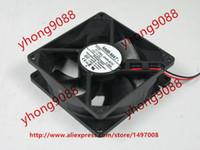 Livraison gratuite pour NMB 3110KL-04W-B70, S00 DC 12V 0.38A connecteur à 2 fils à 2 broches 90mm 80x80x25mm ventilateur de refroidissement carré
