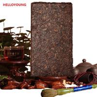 250g Puerh China 40 Años de Edad PU er Shu ladrillo té de Puer antiguo árbol Puer Té maduro