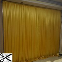 3M high*3M wide wedding curtain black backdrop color Party C...