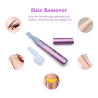 Women Facial Trimmer Eyebrow Styling Kit Electric Razor Pen ...