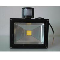 Светодиодное наружное освещение Прожекторы 10W 20W 30W 50W 5000lm PIR Датчик движения Светодиодный прожектор IP65 12V