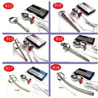 Electric shock therapy Stainless Steel Urethral   Anal Plug Electrical Medical Themed Toys Kit Sex Toys analplugs For Men