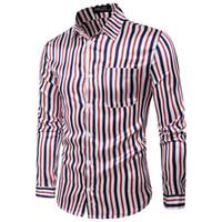 الرجال مخطط قمصان طويلة الأكمام زائد حجم الأعمال قمصان رسمية الذكور عارضة القمصان camisa الغمد camisas hombre