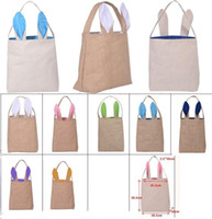 Wholesale easter bunny ears buy cheap easter bunny ears from new 12 styles cotton linen easter bunny ears basket bag for easter gift packing easter handbag for child festival gift 255305100mm b1131 negle Image collections