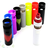 eGo Aio D22 Silicon Case D22 Skin Cases Colorful Soft Silicone Sleeve Cover Skin For eGo Aio D22 Battery E Cigarette DHL Free