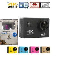 "4K Sports Camera HD Action 2 ""WIFI Diving 30 Metros Cámaras impermeables 1080P Full HD 140 ° Cámaras de la cámara Sport DV Car color más barato JBD-M7"