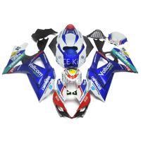 5 regalos gratis nuevos kits de carenado de motocicleta ABS 100% FIT para SUZUKI GSXR1000 K7 2007-2008 GSXR 1000 K7 07-08 Nice Multicolor Artículo No.221