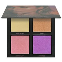 2017 New Beautiful Summer Solstice Highlighter Palette 3D Hi...