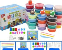 5 sets(24color one kit)Kid Light Clay Amazing DIY Plasticine...