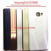 10 pcs OEM Une qualité pour Samsung Galaxy note 5 n920a n920t n920v n920f couvercle arrière Couvercle de la porte de la batterie + Adhésif 100% testé avant