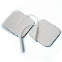 전극 용 도전성 겔을 사용한 전극 패드 단위 크기 5 * 5cm 플러그 구멍 2.0mm 포함