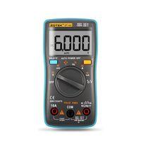 Zotek ZT102 디지털 멀티 미터 6000 카운트 백 라이트 AC / DC Ammeter 전압계 Ohm 주파수 다이오드 온도