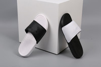Wholesale Black White Slippers Hydro sandals men women runni...
